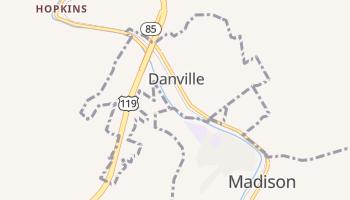 Danville, West Virginia map