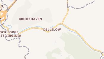 Dellslow, West Virginia map