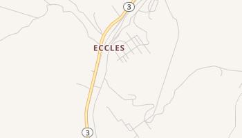 Eccles, West Virginia map