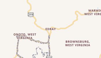 Edray, West Virginia map