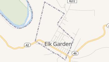 Elk Garden, West Virginia map