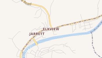 Elkview, West Virginia map