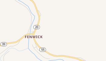 Fenwick, West Virginia map
