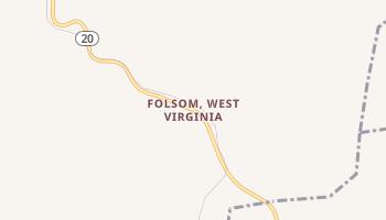 Folsom, West Virginia map