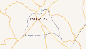 Fort Ashby, West Virginia map
