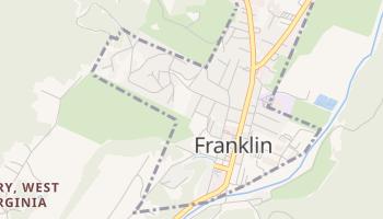 Franklin, West Virginia map
