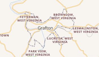 Grafton, West Virginia map