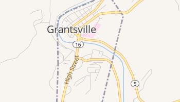 Grantsville, West Virginia map