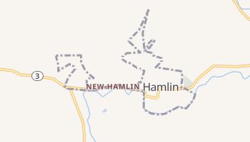 Hamlin, West Virginia map