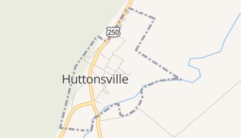 Huttonsville, West Virginia map