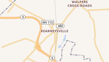 Kearneysville, West Virginia map