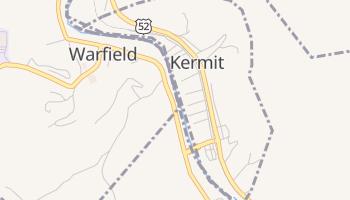 Kermit, West Virginia map