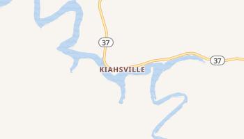 Kiahsville, West Virginia map