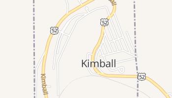 Kimball, West Virginia map