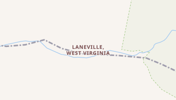 Laneville, West Virginia map