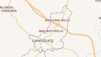 Lewisburg, West Virginia map