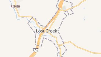Lost Creek, West Virginia map