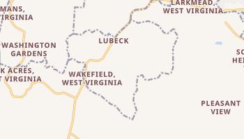 Lubeck, West Virginia map