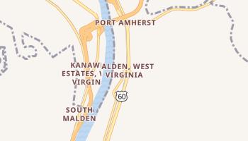 Malden, West Virginia map
