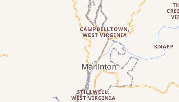 Marlinton, West Virginia map