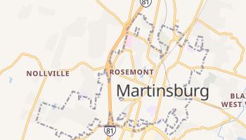 Martinsburg, West Virginia map