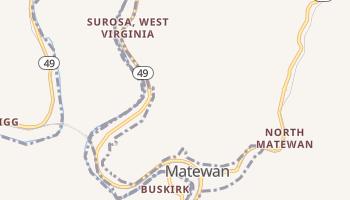 Matewan, West Virginia map