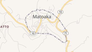 Matoaka, West Virginia map