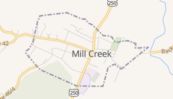 Mill Creek, West Virginia map