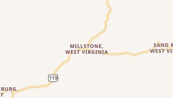 Millstone, West Virginia map