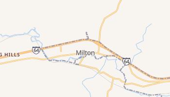 Milton, West Virginia map