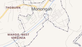 Monongah, West Virginia map