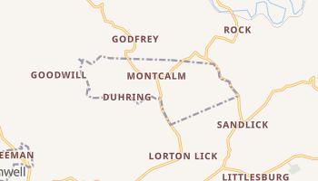 Montcalm, West Virginia map