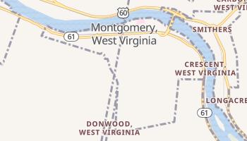 Montgomery, West Virginia map