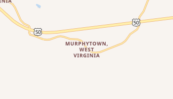 Murphytown, West Virginia map