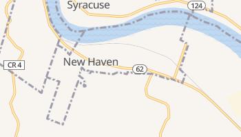 New Haven, West Virginia map
