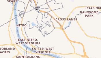 Nitro, West Virginia map