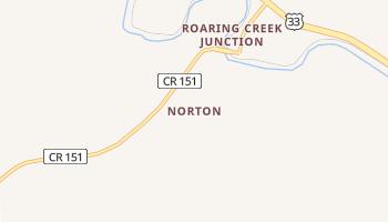Norton, West Virginia map