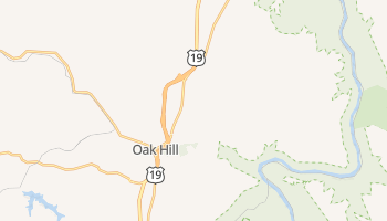 Oak Hill, West Virginia map