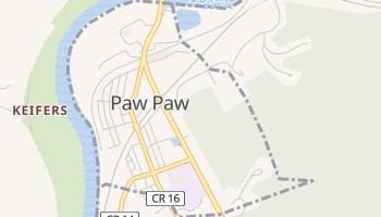 Paw Paw, West Virginia map