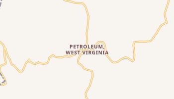 Petroleum, West Virginia map