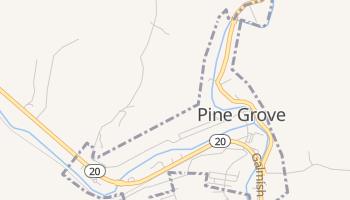 Pine Grove, West Virginia map