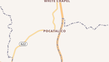 Pocatalico, West Virginia map