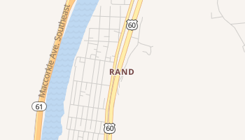 Rand, West Virginia map