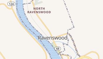 Ravenswood, West Virginia map