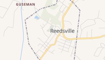 Reedsville, West Virginia map