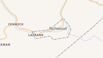 Richwood, West Virginia map
