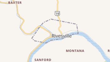 Rivesville, West Virginia map