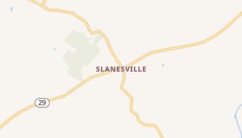Slanesville, West Virginia map