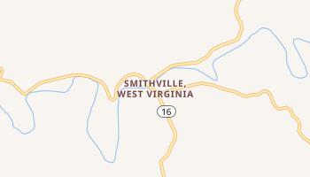 Smithville, West Virginia map