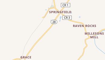 Springfield, West Virginia map